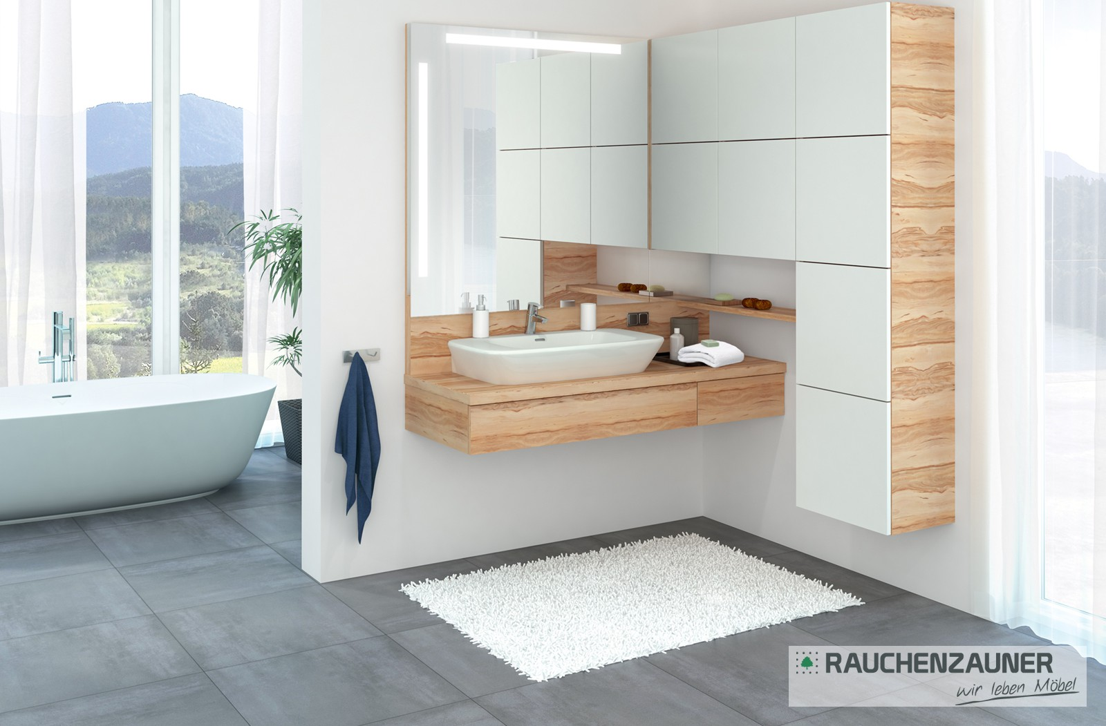 badezimmer vom tischler: bad-möbel kaufen nahe amstetten, Badezimmer dekoo